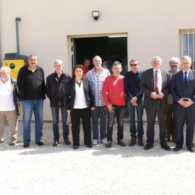 Nouvelle station de traitement des eaux potables St-Hubert
