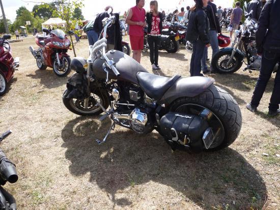 Rassemblement de bikers