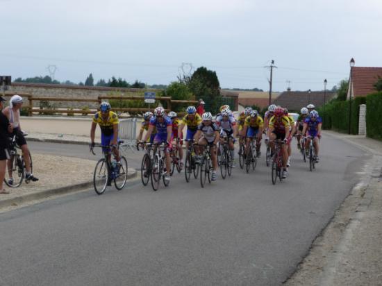 Course cycliste le 14 juillet 2010