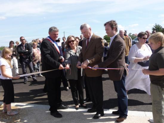 """Inauguration de la zone artisanale """"La Campe"""""""