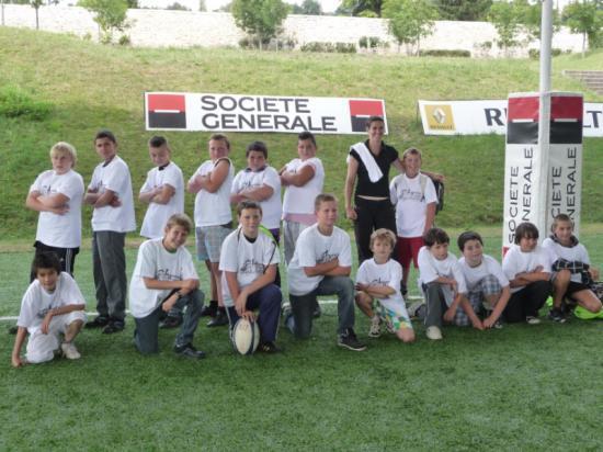 Le Club de rugby d'Egriselles le Bocage à Marcoussis