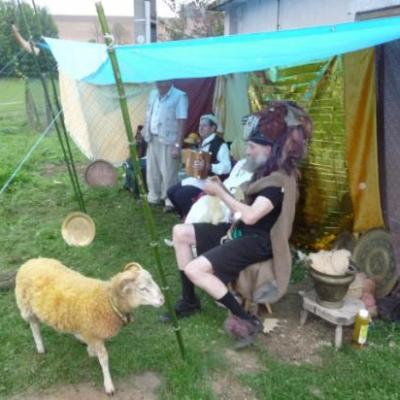 Le tissage du mouton d'or