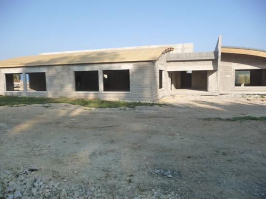 Construction de la cantine garderie