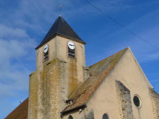 Les horloges de l'Eglise après rénovation