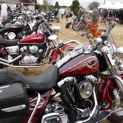 Le rassemblement de bikers