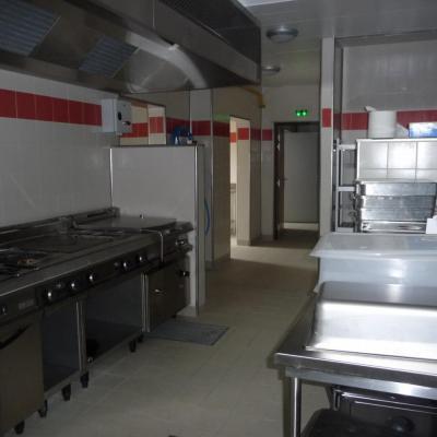 salle de préparation des repas
