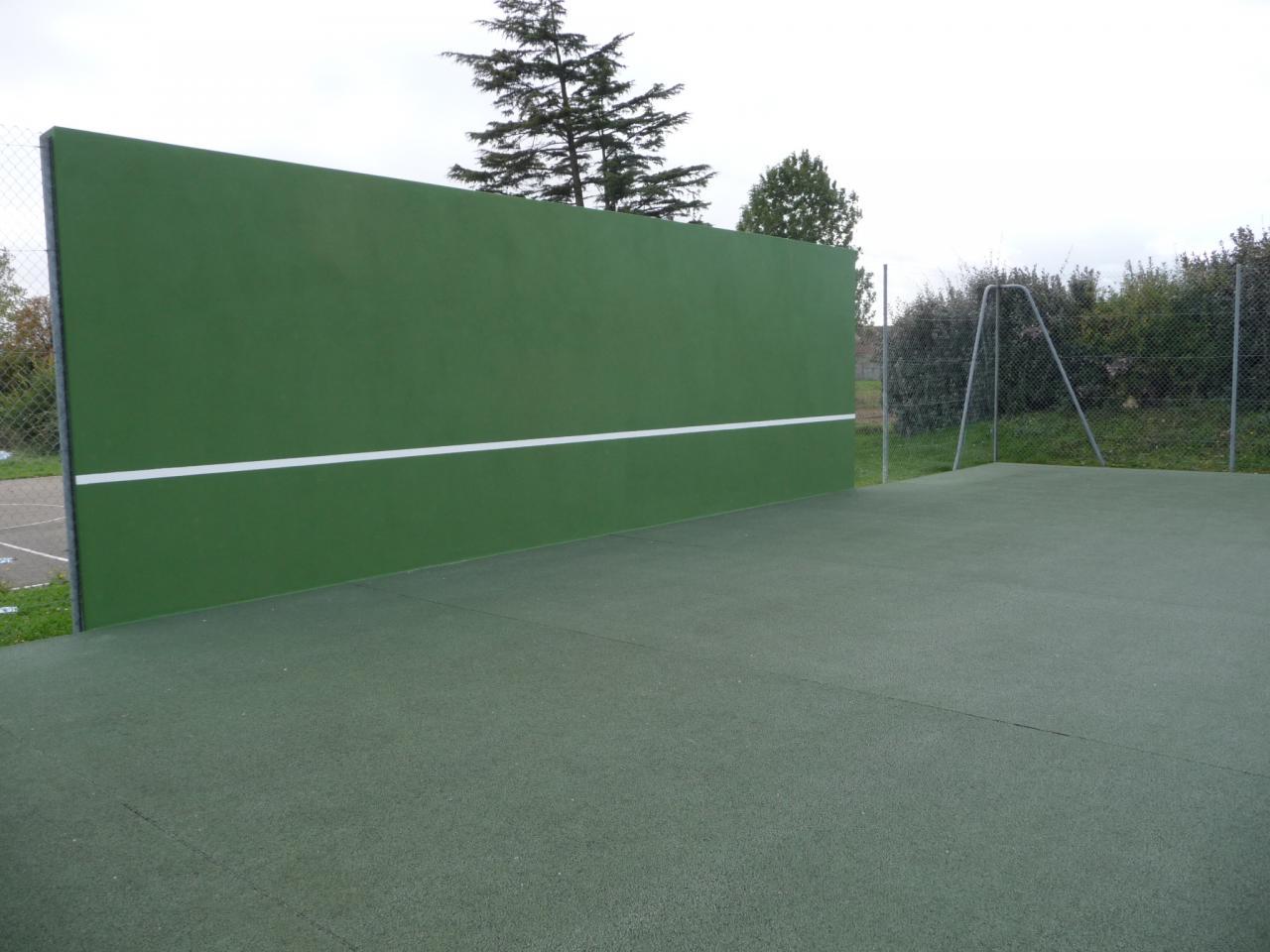 Le mur d'entrainement