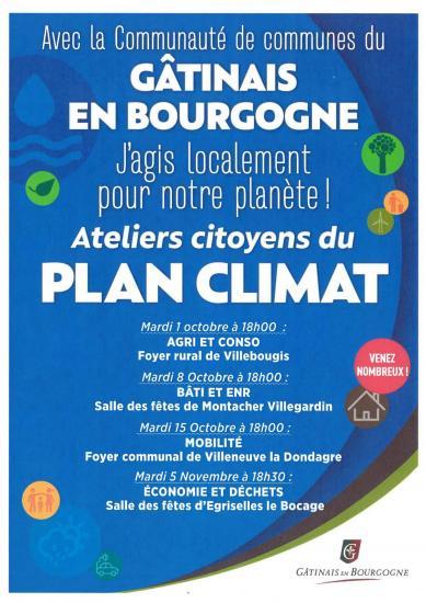 Atelier citoyen plan climat