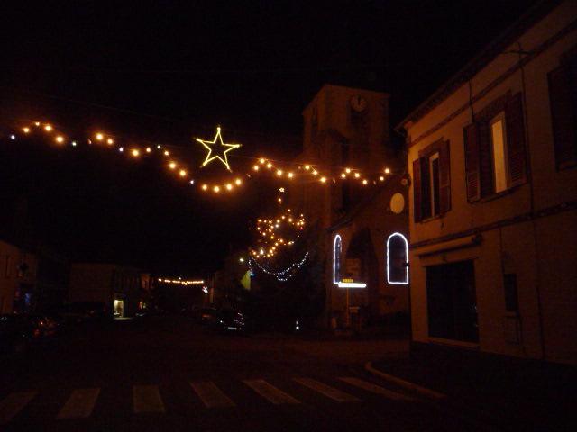 Les rues illuminées