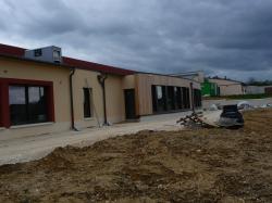 l'école en construction