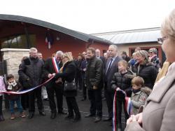 Inauguration de l'école